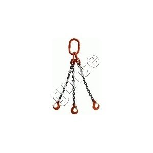 Zawiesia łańcuchowe 3-cięgnowe zakończone hakami DOR  8,0t