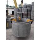 UBX komplet - uchwyt do kręgów betonowych