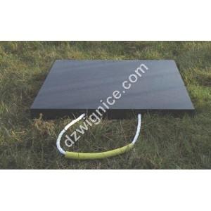 Podkład kwadratowy pod stopę stabilizatorów dźwigów i koparek - GP