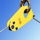TC - pozycjonowanie ładunku dla liny pomocniczej, zawiesia