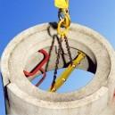 CX - trawersa do podnoszenia stożkowych rur betonowych
