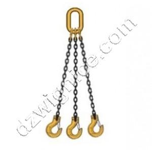 Zawiesia łańcuchowe 3-cięgnowe zakończone hakami DOR 11,2t