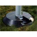 Podkład okrągły z wpustem pod stopę stabilizatorów dźwigów - GW