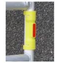 GR6–Nakładka odblaskowa na słupek rusztowania Ø 48mm