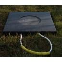 Podkład kwadratowy z gniazdem pod stopy stabilizatorów dźwigów - GPG